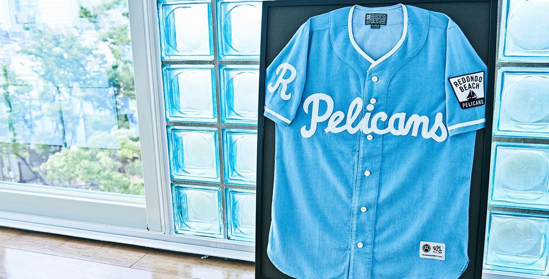 並木さんが少年時代を過ごしたカリフォルニア州LA近郊、レドンドビーチを本拠とする「レドンドビーチ・ペリカンズ」という架空の野球チームをつくり、そのユニフォームやTシャツなどのオリジナルコレクションを、ロンハーマンで限定販売している。同店では完売商品も多い人気ブランドになっているという。