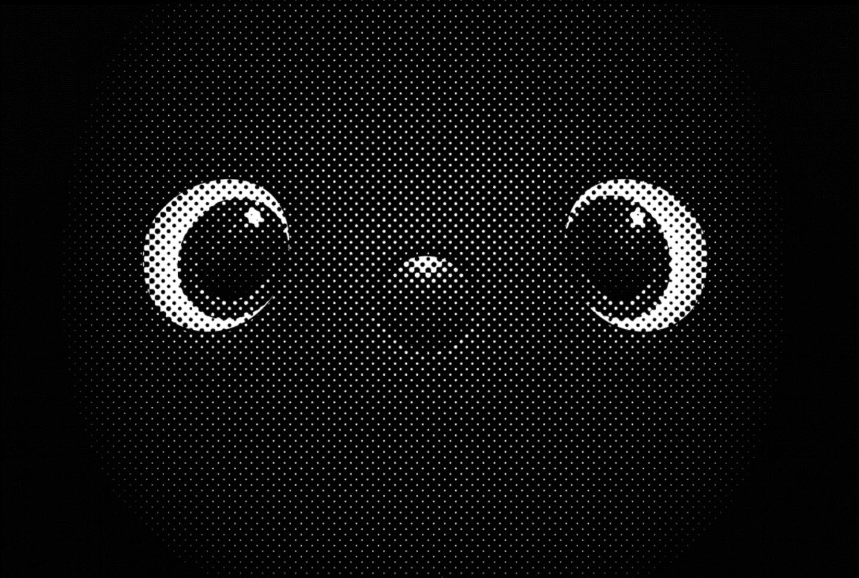 GROOVE Xの新カテゴリーロボット「LOVOT(ラボット)」は、2018年内の発表を予定。2018年9月下旬の段階で公開されているデザインは、この愛らしい目。果たして、どんな姿なのか?